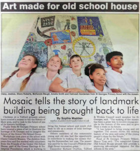 Art made for Gower Old School House