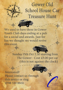 Gower Old School House Car Treasure Hunt