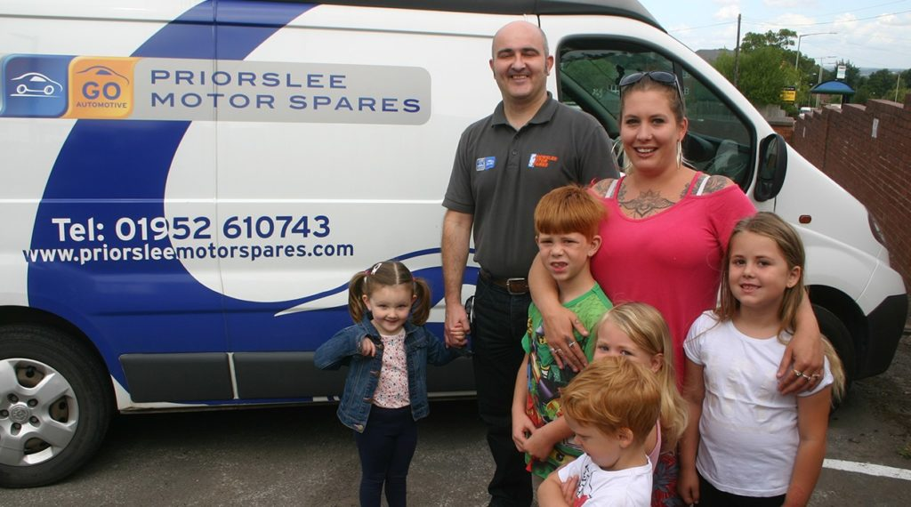 Priorslee Motor Spares with Danielle Wood