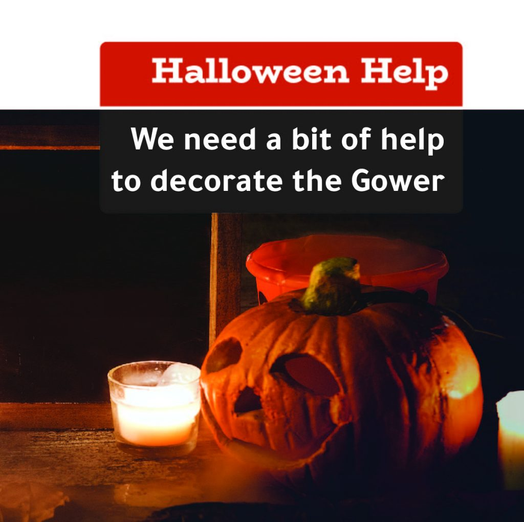 The Gower Telford - Halloween Help
