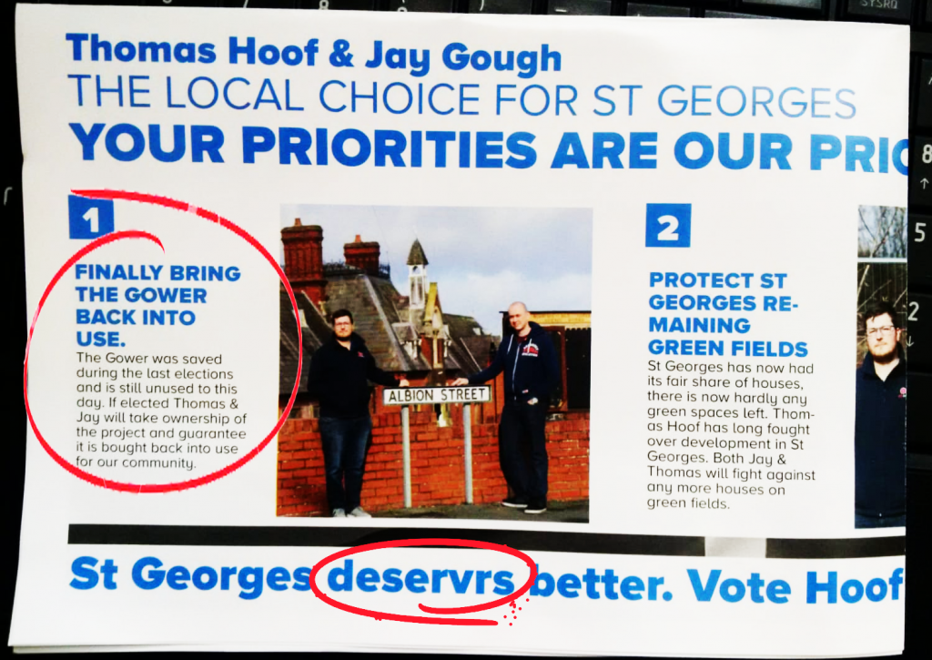 Tory-electioneering