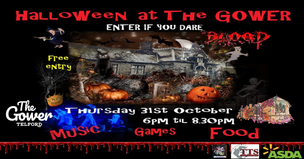 Halloween at The Gower